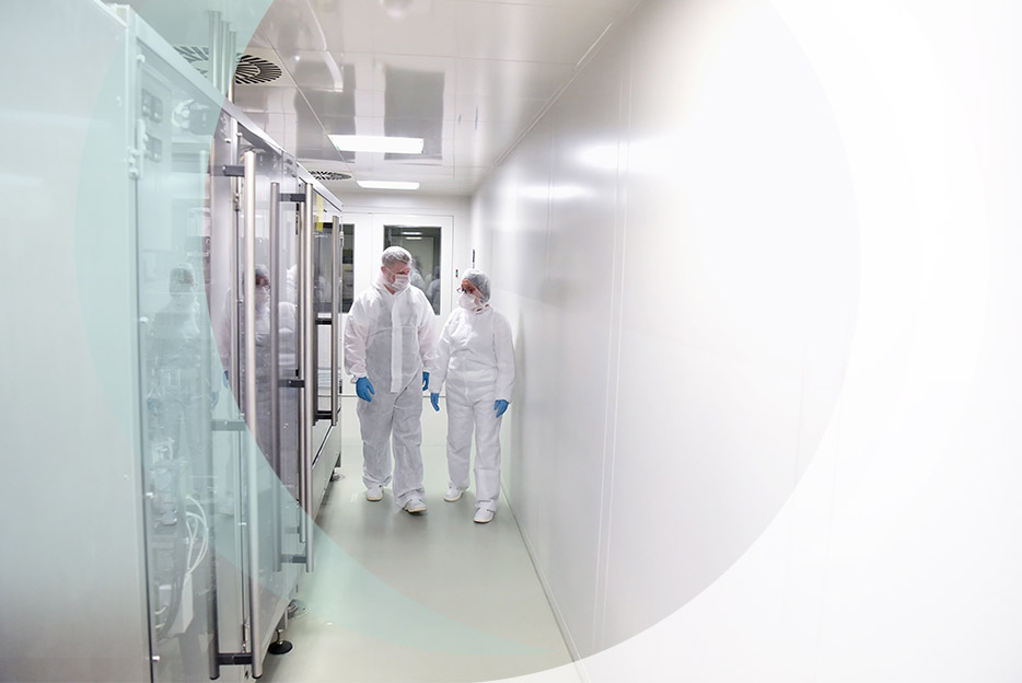 We produce according to best standards - clean room class A for sterile and aseptic filling of your pharmaceutical sterile finished products