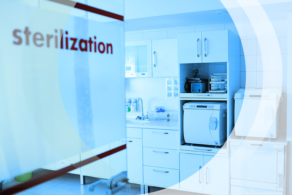 We only use proven, reliable and validated processes for the sterilization process of our patented dosage systems for preservative-free application