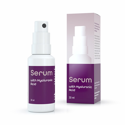 Serum with Hyaluronic Acid - Power booster for regeneration and anti-aging effects